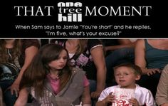 James Lucas Scott. Jackson Brundage. One Tree Hill. OTH. Jamie. Sam. That One Tree Hill Moment.