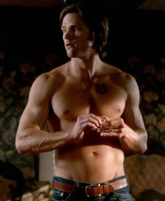 Sam Winchester is throwing away a girl's phone number because IT'S NOT MINE.