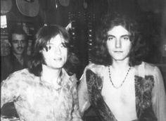 John Paul Jones & Robert 'Percy' Plant | Led Zeppelin