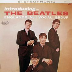 beatles album covers | Introducing... The Beatles Album Cover - the original Vee-Jay.