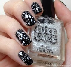 Sally Hansen Luxe Lace Eyelet Swatches and Review.