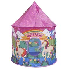 Glittles Unicorn Toys Kids Play House Tent with Pink Travel Case NEW Toys For Girls, Gifts For Girls, Girls Play Tent, House Tent, Tinker Toys, Kids Pop, Kids Tents, Unicorn Gifts, Toy Store
