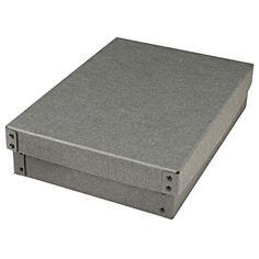 硬質パルプボックス・フタ式・浅型 約幅25.5×奥行36×高さ8cm   無印良品ネットストア