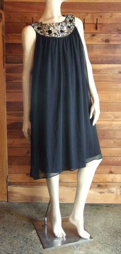 NWT R & M RICHARDS BLACK PLUS SIZE 20W LINED DRESS STYLE 35982 #RMRichards #LITTLEBLACKDRESS #Cocktail