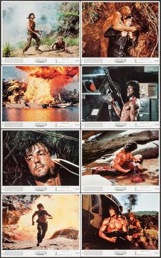Silvester Stallone, First Blood, War Film, 80s Movies, Arnold Schwarzenegger, Cultura Pop, Film Stills, Karate, Actors & Actresses