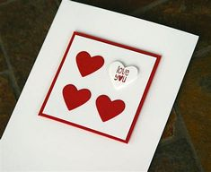 Stampin' Up! Valentine's Day