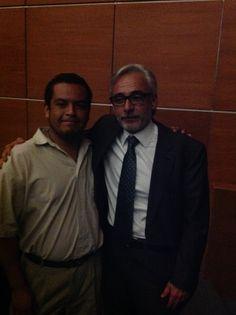 El Director del Grupo Pachuca, el Lic. Jesús Martínez y yo!!!