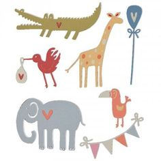 Image result for sizzix  thins baby animals cards