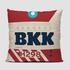BKK - Throw Pillow