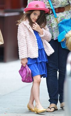 Suri Cruise is just so adorable!