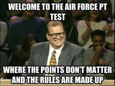 Air Force PT test