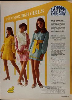 1970 Sears Spring Summer with Molly Corby and Susan Dey m