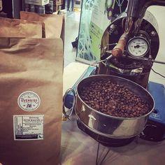 Roasting is coming on nicely at the #highland & #moray food festival. #coffeesnob #scotland #caffeine #castlemilk #glasgow #specialtycoffee #coffeeporn #coffeegeek #caffeinated #coffeelover #coffeesubscription #ovenbird #espresso #aeropress #stovetop #chemex #v60 http://ift.tt/1U25kLY