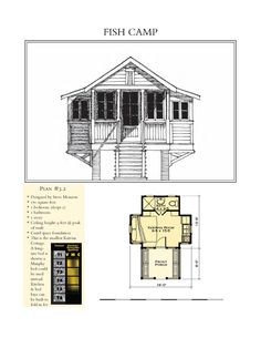 The 699 sq ft missbehavin xxl 39 s floor plan shape could for Fish camp house plans