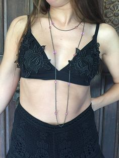 Black Lace Bralette, Crop Tops, Women, Fashion, Moda, Fashion Styles, Fashion Illustrations, Cropped Tops, Crop Top Outfits