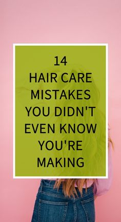 14 Hair Care Mistakes You Didn't Even Know You're Making Health Benefits, Health Tips, Health And Wellness, Herbal Cure, Herbal Remedies, Natural Sleep Remedies, Receding Gums, Health Vitamins