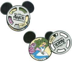 Pin 88635: DLR - Reel Characters - Walt Disney's Alice in Wonderland