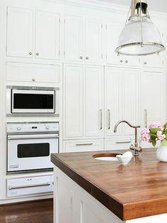 Butcher Block Wood Kitchen Countertop