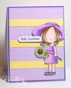 Hello, Sunshine card by Karen Motz