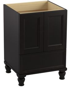 Damask 24 Vanity With Furniture Legs 2 Doors And 1 Drawer