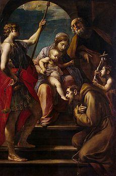 ALESSANDRO TIARINI ( Bologna 20/ 03/ 1577 - 08/ 02/ 1668).