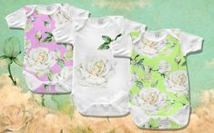 Delicate White Roses PNG Watercolor Set Illustration #Illustration #Roses #White #Delicate