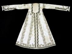 Ottoman Turkish woman robe, 18th c.