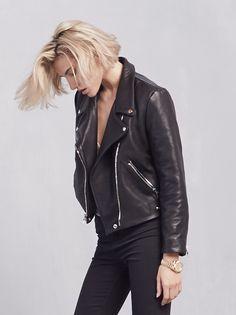 Arctic leather Jacket