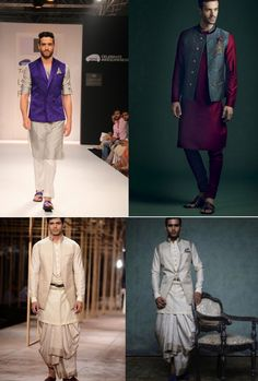 It is the single most versatile piece of clothing in any guys cupboard and come the wedding season, a grooms best friend ! You can wear it as easily for a casual brunch , as for a cocktail night and . Mens Indian Wear, Mens Ethnic Wear, Indian Groom Wear, Indian Men Fashion, Indian Attire, Indian Outfits, Nehru Jacket For Men, Nehru Jackets, Wedding Sherwani