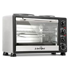 Benchtop Convection Oven With Twin Hot Plates 34l With Images Convection Oven Hot Plates Convection
