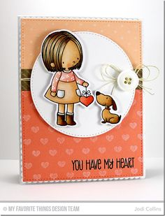 You Have My Heart, Swiss Dots Background, Tiny Hearts Background, Stitched Circle STAX Die-namics, You Have My Heart Die-namics - Jodi Collins   #mftstamps