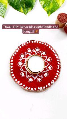 Diwali Food, Diwali Diy, Indian Wedding Decorations, Indian Home Decor, Indian Art, Dining Room, Candles, Creative, Indian Artwork