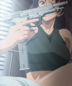 hi, long time since I uploaded banners, hellsing is over and I have no more banners of that anime, and the truth is that there are not many animes that . Revy Black Lagoon, Black Lagoon Anime, Gun Aesthetic, Aesthetic Anime, Kawaii Anime Girl, Anime Art Girl, Manga Anime, Black Anime Characters, Cartoon Profile Pictures
