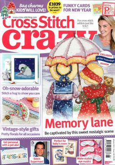 All the issues of Cross Stitch Crazy on our Newsstand. Get the subscription to Cross Stitch Crazy and get your Digital Magazine on your device. Cross Stitch Tree, Just Cross Stitch, Cross Stitch Books, Beaded Cross Stitch, Cross Stitch Borders, Cross Stitch Designs, Cross Stitching, Cross Stitch Embroidery, Cross Stitch Patterns