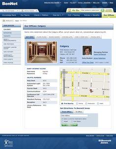 Bennett Jones Intranet Design, People Finder, Screen Shot, Law, Public, Knowledge, Technology, Templates, Google Search