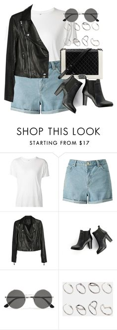 """""""Style #11677"""" by vany-alvarado ❤ liked on Polyvore featuring R13, Miss Selfridge, Paige Denim, Chanel, SWEET MANGO, Yves Saint Laurent and ASOS"""