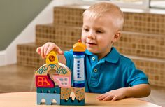 STEM is more than just a fad, it's a key component in your child's learning and their future success. Help your kids get excited about STEM with HABA toys. @habausa #stem #earlylearning #woodentoys