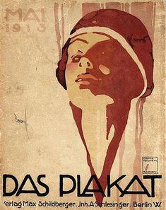 Das Plakat Verlag Max Schildberger 1913 Berlin