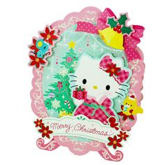 """Miss Girlie Girl: Preview """"Celebrate with Hello Kitty and friends this adorable 3D pop up Christmas cards"""""""