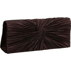 Price: 	$19.99 | J. Furmani Satin Flap #Clutch  | Color: BROWN |              Fabric,     SATIN FLAP CLUTCH,     Concealable strap with match,     Strap has 20 drop length,     SNAP CLOSURE,     INTERIOR SLIDE POCKET,