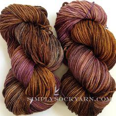 Simply Socks Yarn Company - MT Tosh DK Dachshund, $22.00 (http://www.simplysockyarn.com/mt-tosh-dk-dachshund/)