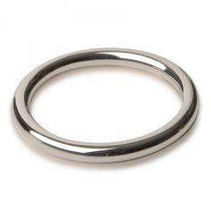 Titus Range: 45mm Fine C-Ring 6mm - Pierścienie, sondy, tunele  Pierścień erekcyjny pomagający utrzymać dłuższy i twardszy wzwód. Grubość pierścienia: 6mm.  Wykonany ze stali nierdzewnej jakości medycznej.  Dostępny na www.tabu24.pl