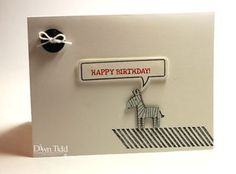 Dawn Tidd, Stamp Review Crew, Gorgeous Grunge, Zoo Babies, greeting card, birthday