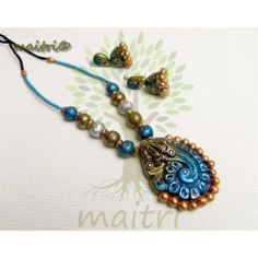 Terracotta Traditional Jewellery  -  Traditional Blue Designer  https://www.facebook.com/maitricrafts.maitri https://www.facebook.com/maitricrafts. maitri_crafts@yahoo.com