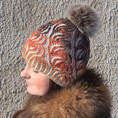 Knit Hats, Knitting Projects, Winter Hats, Beanies, Brioche, Scarf Patterns, Breien, Knit Beanie, Knitted Hats