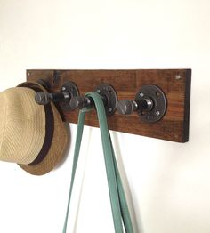 Reclaimed Wood & Pipe Coat Rack | Collections Reclaimed Wood | Reclaimed PA | Scoutmob Shoppe | Product Detail