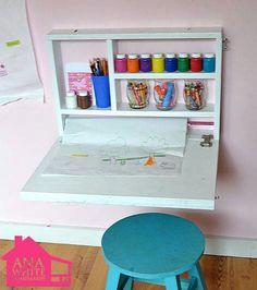 Fold up kids desk