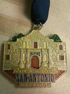 Rock N Roll Marathon Medal