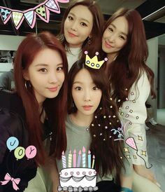 """ seojuhyun_s: Happy Birthday 탱구언뉘❤  생일축~하~합니다아~생일 축~하 합니다~~사랑하는 태연언니이이~생일축하합니다아아꺅꺅  짝짝짝  ""[trans by SonexStella] Happy Birthday Taengoo unnie❤  Happy~ birthday to you~~ Happy~ birthday to you~~ Taeyeon unnie who I love~  Happy birthday to you..."