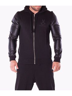 Trening barbati Vortex Sport negru Leather Jacket, Athletic, Interior Design, Sports, Jackets, Fashion, Studded Leather Jacket, Nest Design, Hs Sports
